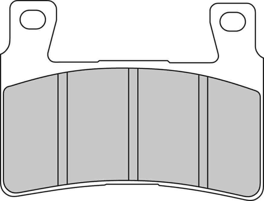 Тормозные колодки передние Ferodo FDB2114P для мотоциклов