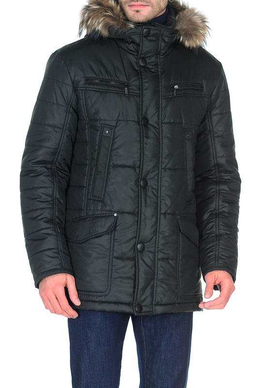 Куртка мужская BAZIONI 4005 серая 52 RU