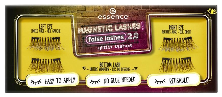 Накладные ресницы essence Magnetic lashes! false lashes