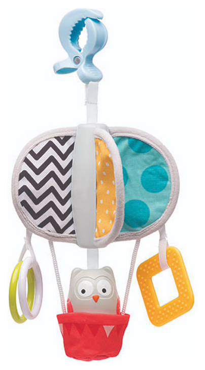 Развивающая подвеска Taf Toys Воздушный шар на клипсе