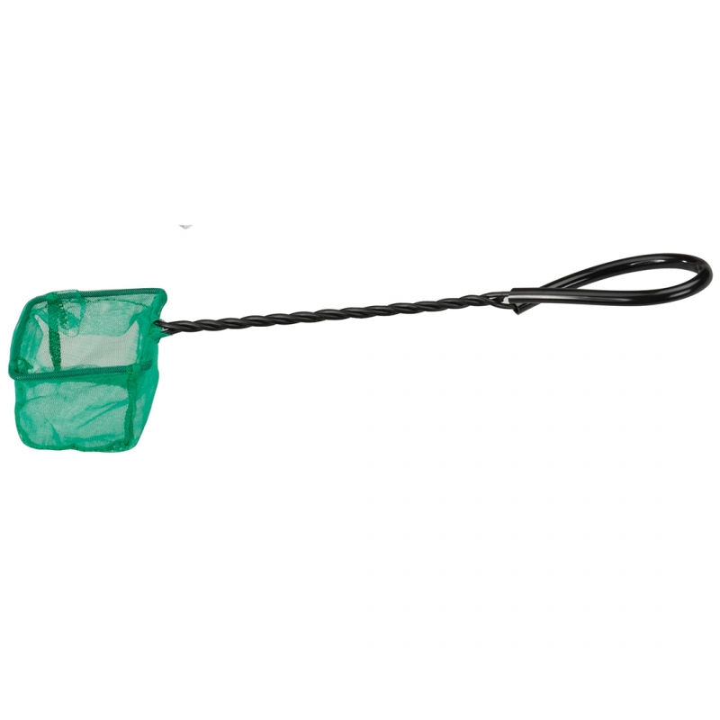 Сачок для рыб Ebi, зеленый, 20см