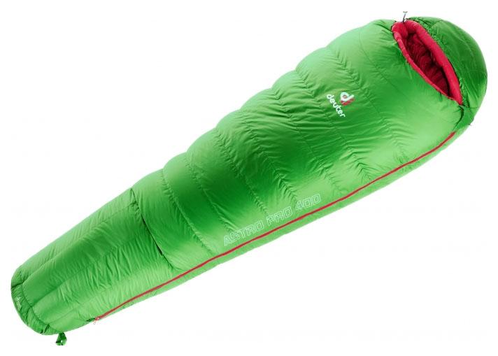 Спальный мешок Deuter Astro Pro 400 Д зеленый, левый
