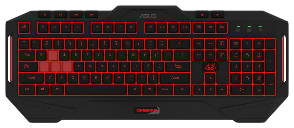 Клавиатура ASUS CERBERUS MKII 90YH0131-B2RA00  - купить со скидкой