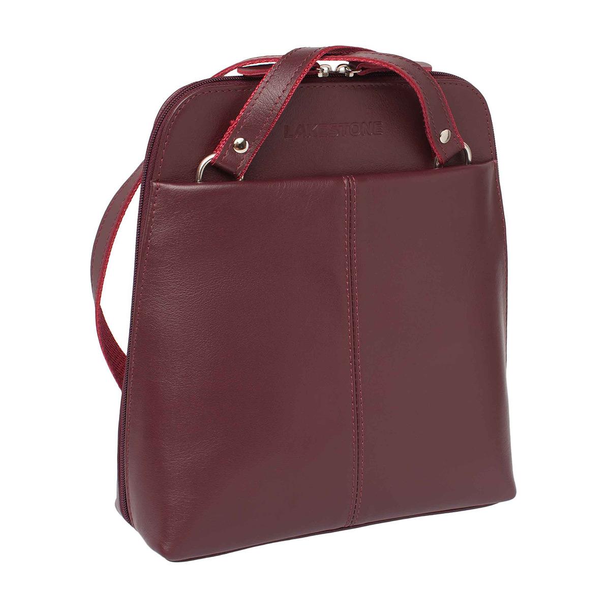 Рюкзак женский кожаный Lakestone 918103/BGD фото