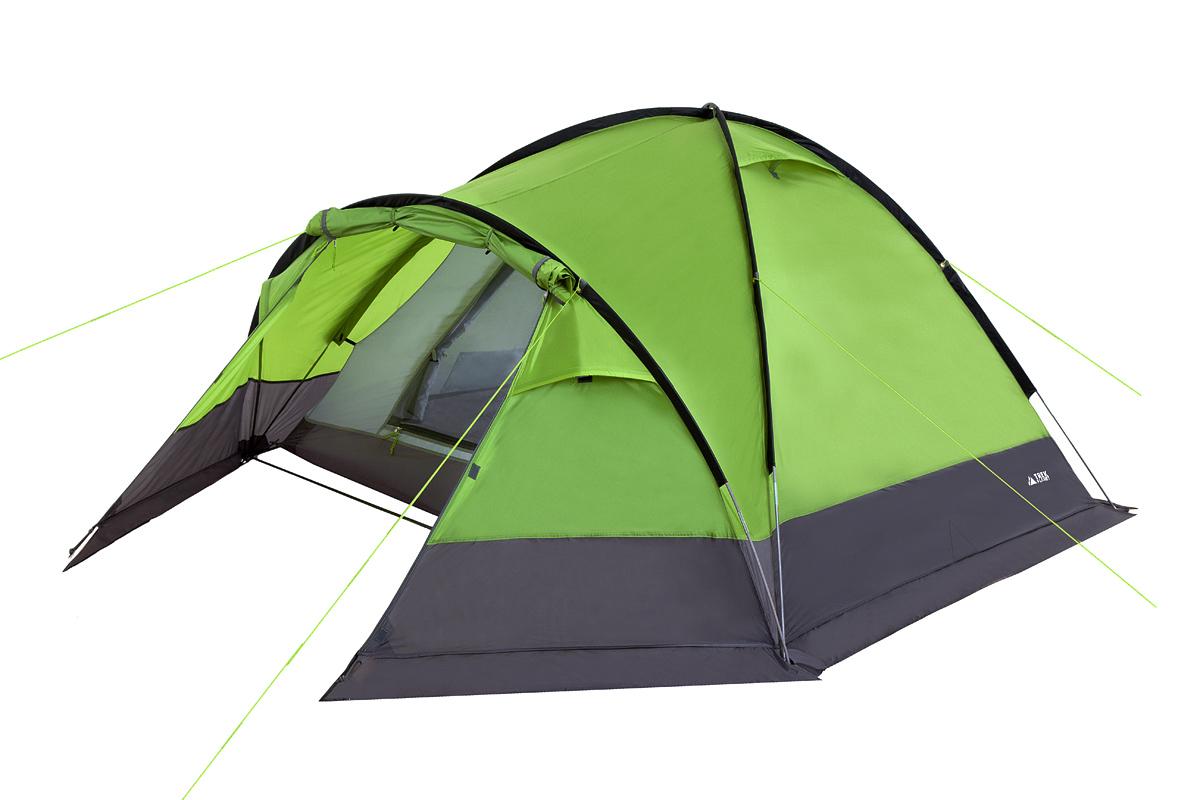 Палатка Trek Planet Zermat трехместная зеленая
