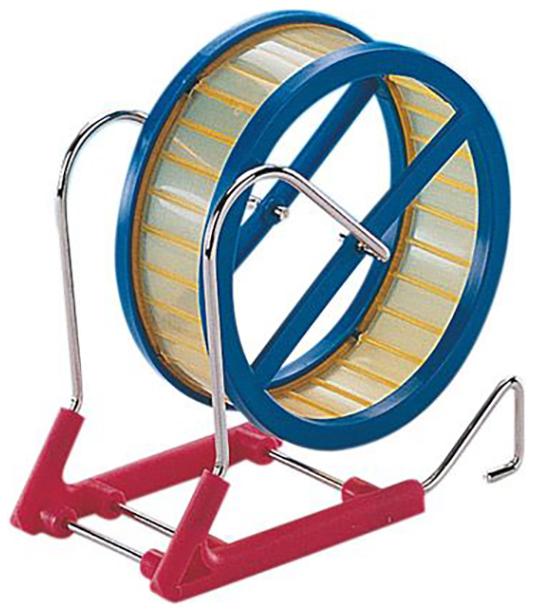 Беговое колесо для грызунов Nobby пластик, металл,