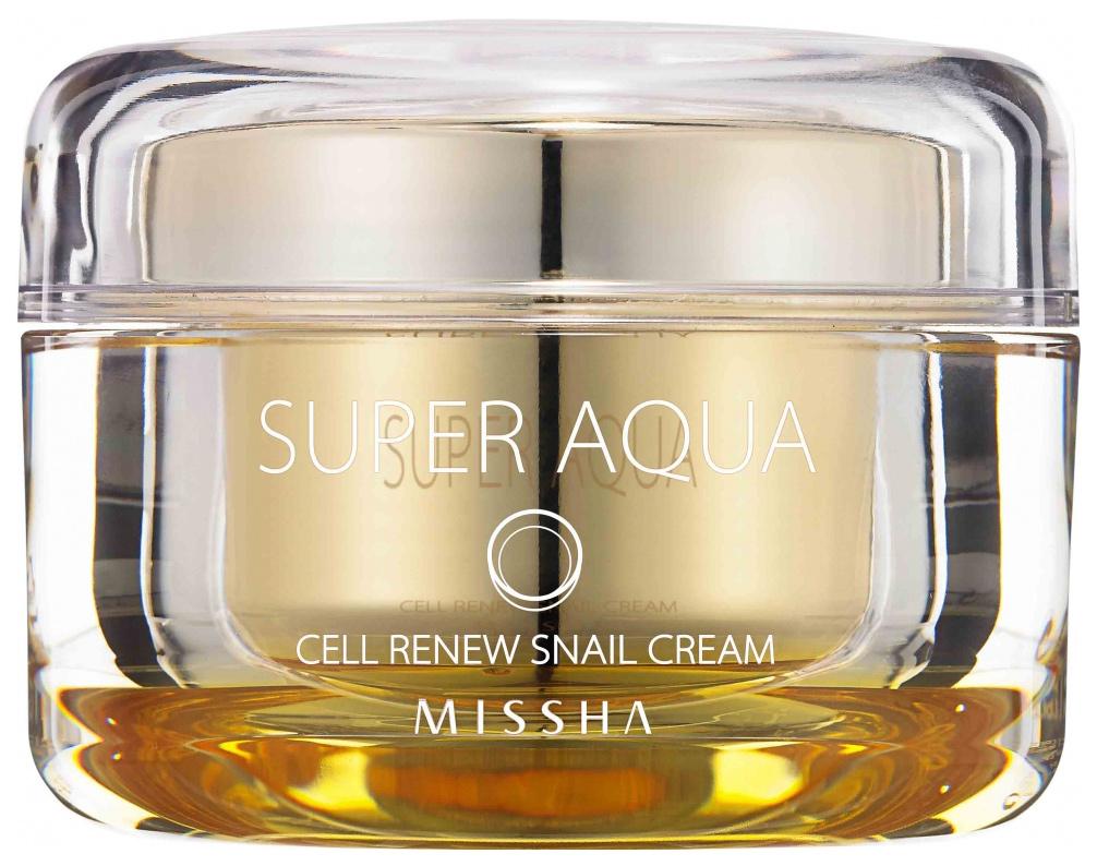 Купить Крем для лица Missha Super Aqua Cell Renew Snail 47 мл