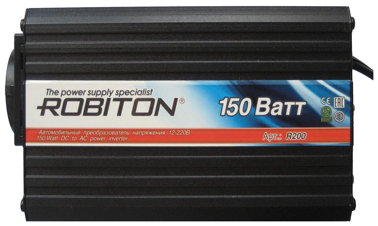 Преобразователь напряжения Robiton R200 DC 12В