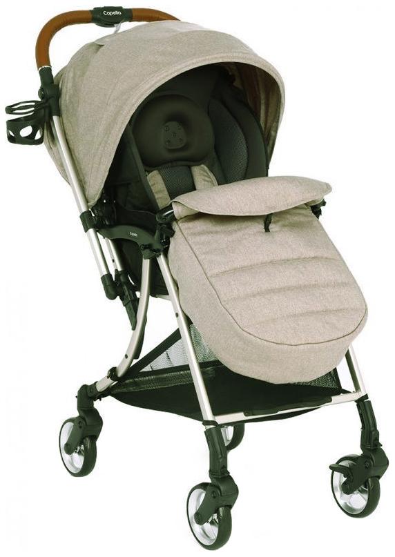 Купить S-230, Прогулочная коляска Capella S203 мокко,