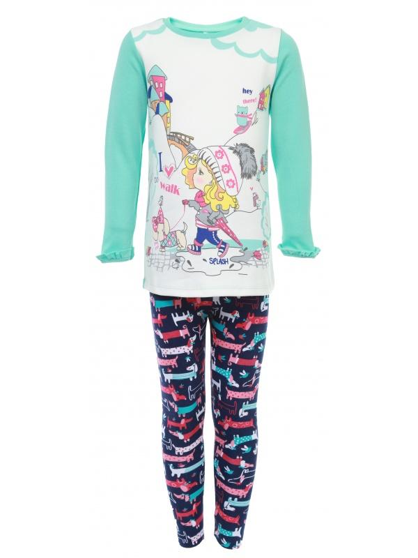 Комплект одежды детский Soni Kids Бирюзовый р.86