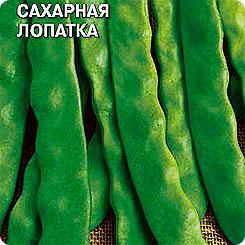 Семена Фасоль овощная Сахарная лопатка, 5 г, СеДеК