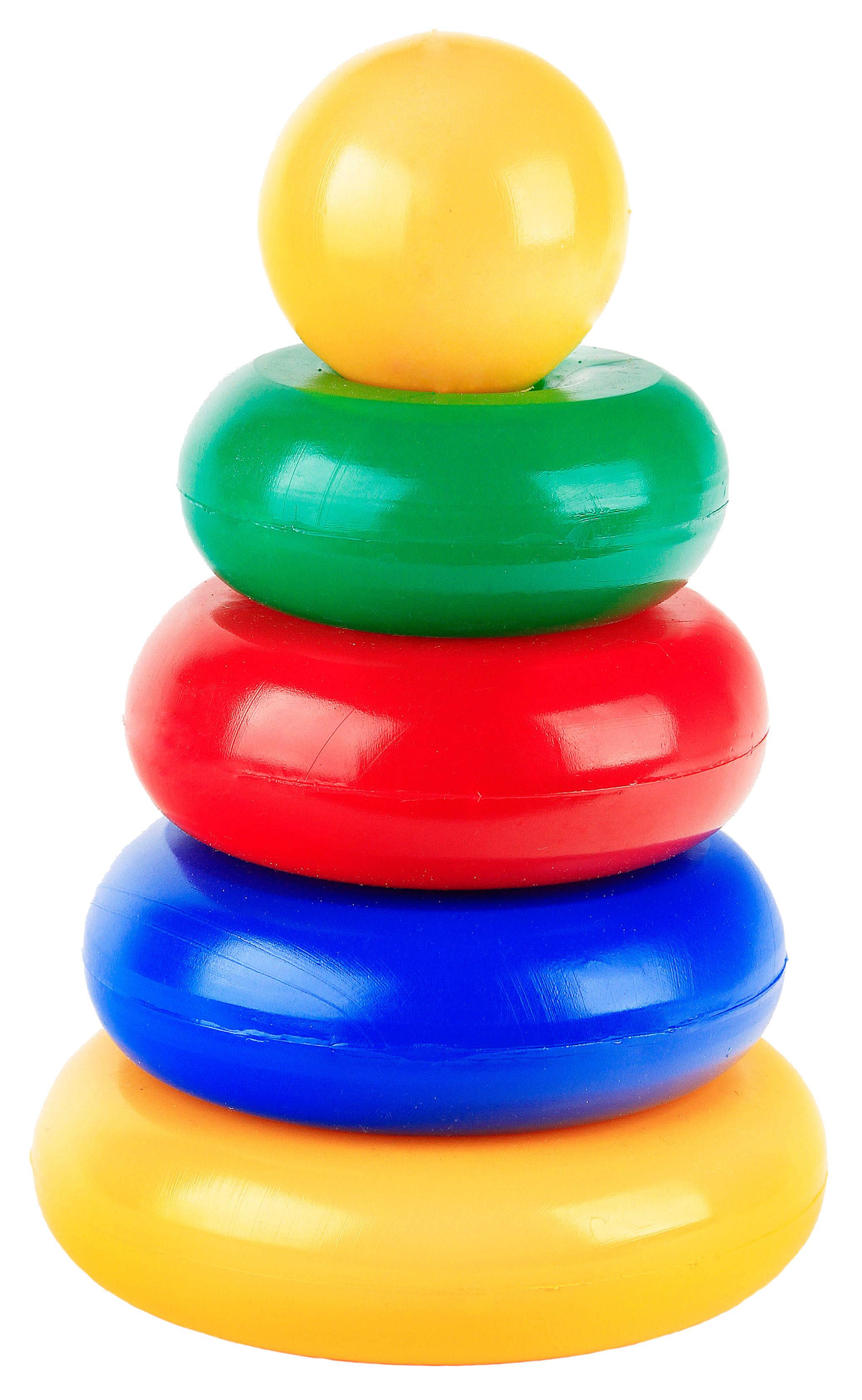картинка Развивающая игрушка Счастливое детство Маленькая пирамидка Шар от магазина Bebikam.ru