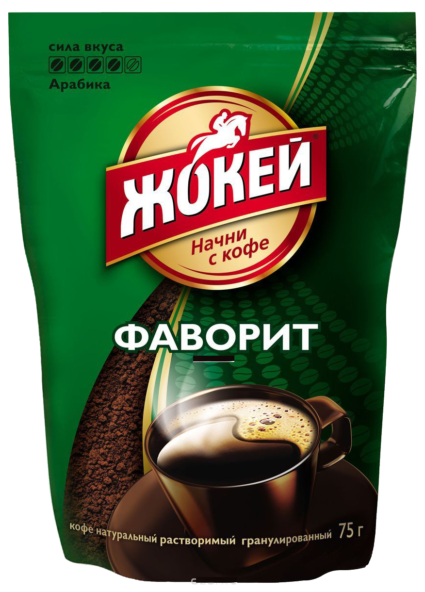 Кофе растворимый Жокей фаворит 75 г