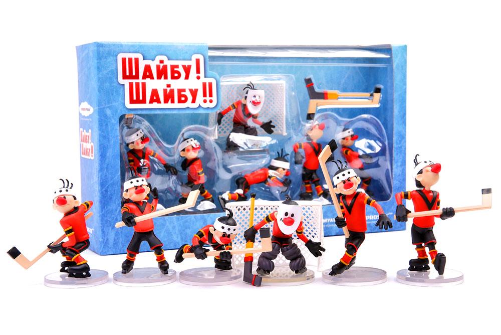Купить Набор коллекционных игрушек Prosto Toys Шайбу! Шайбу! Команда Метеор, Игровые наборы