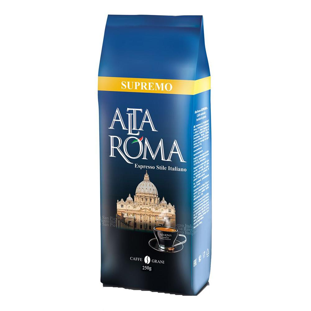 Кофе зерновой Alta Roma супремо 250 г