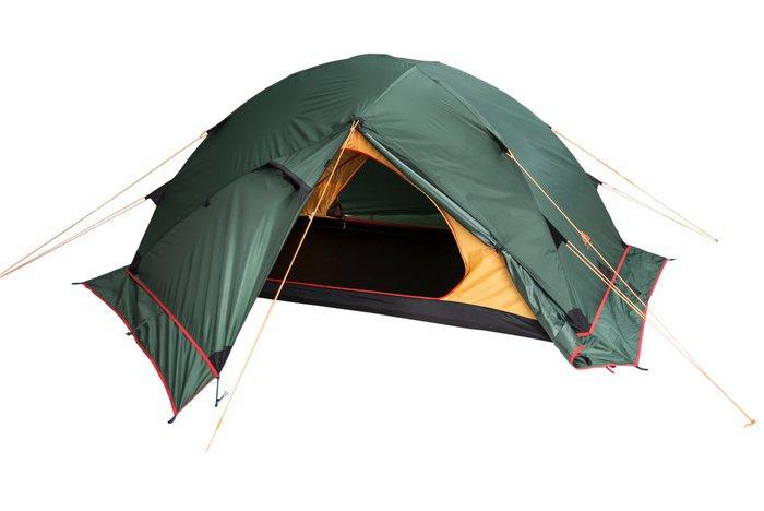 Палатка-автомат Alexika Maverick Plus двухместная зеленая