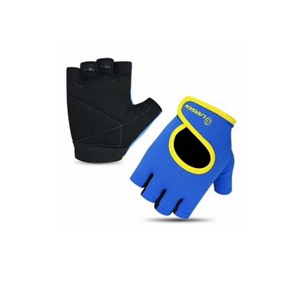 Перчатки для фитнеса Larsen 16 8347 синие M