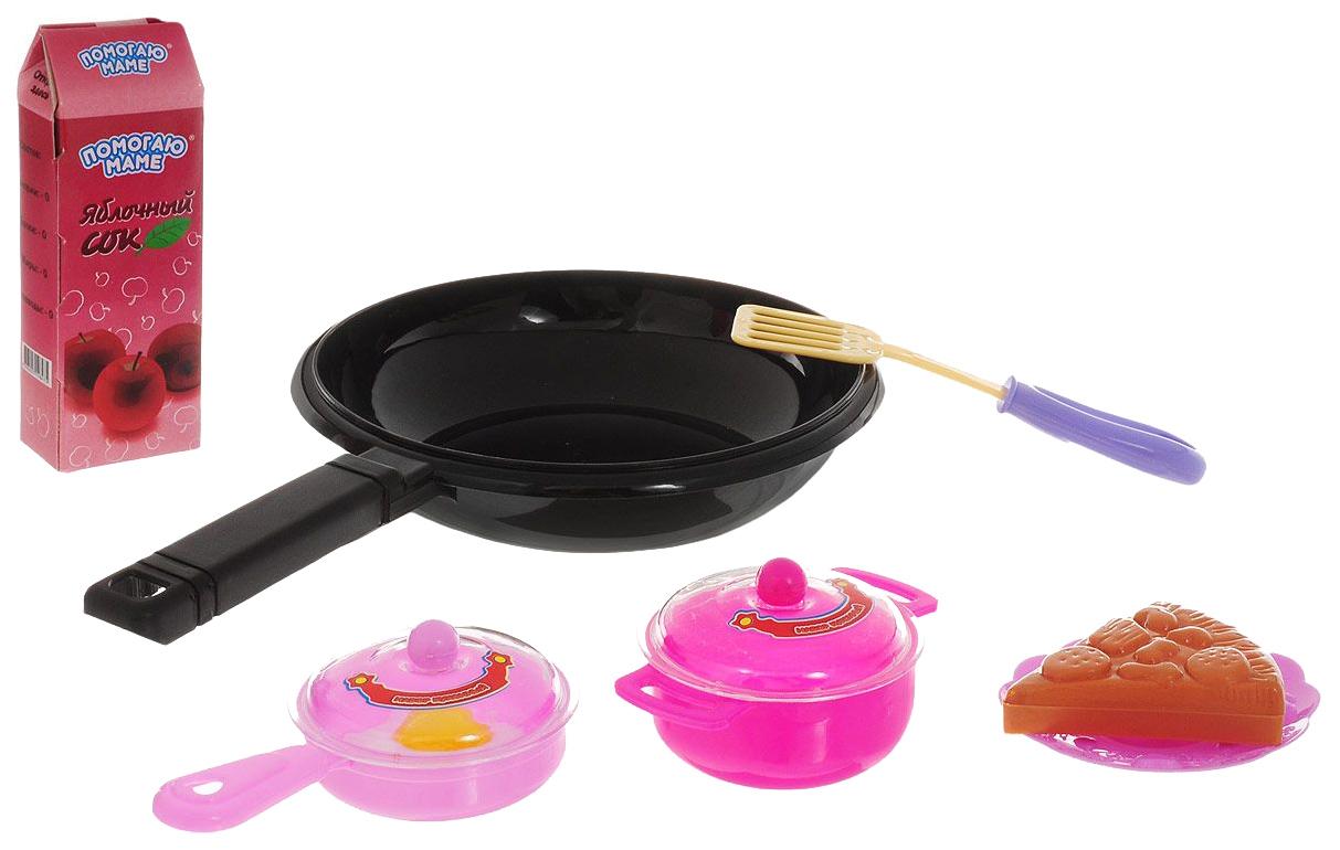 Купить Набор посуды ABtoys PT-00315 Черный, розовый,