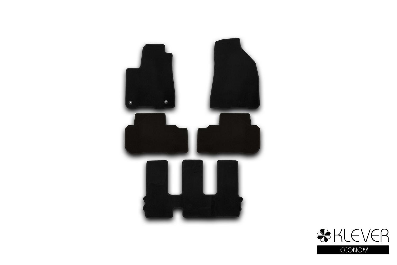 Коврики в салон Klever Econom для TOYOTA Highlander 2014, 5 шт. текстиль