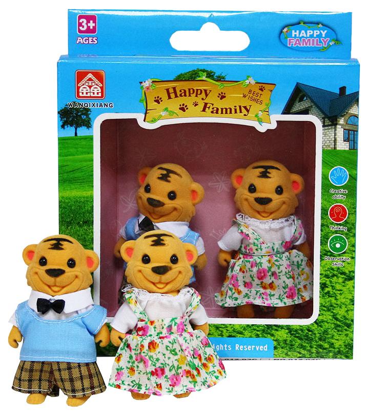 Купить Игровой набор Дрофа-медиа Happy Family Семья лошадок 012-15С, Дрофа-Медиа, Игровые наборы
