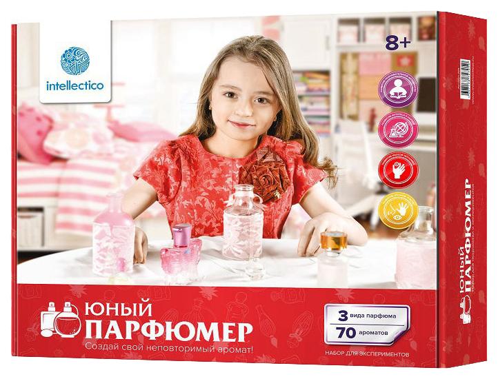 Набор юного парфюмера Intellectico Средний Юный парфюмер