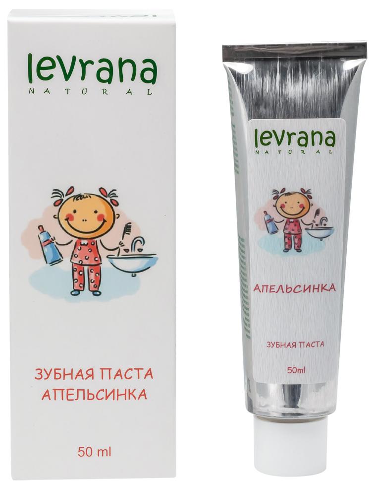 Купить Детская зубная паста Levrana Апельсинка 50 мл, Детские зубные пасты