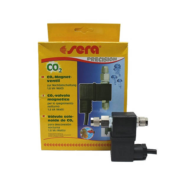 Sera Flore CO2 Электромагнитный клапан 2 w для СО2 систем