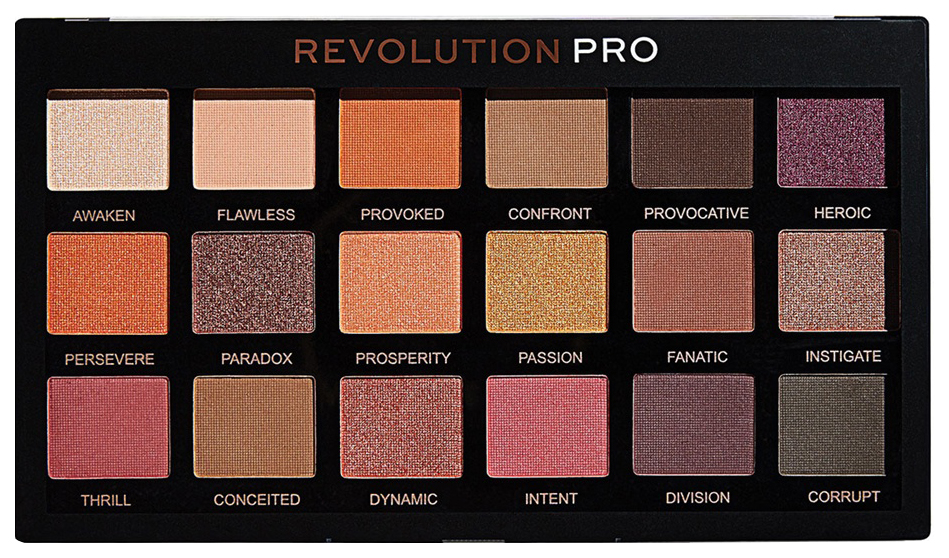 Купить Тени для век Revolution PRO Regeneration Palette Mirage 14, 4 г