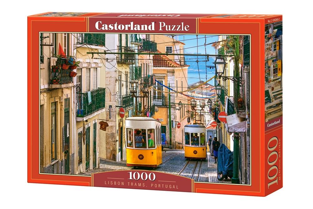 Купить Пазл Лиссабон. Португалия, 1000 элементов C-104260, Castorland, Пазлы
