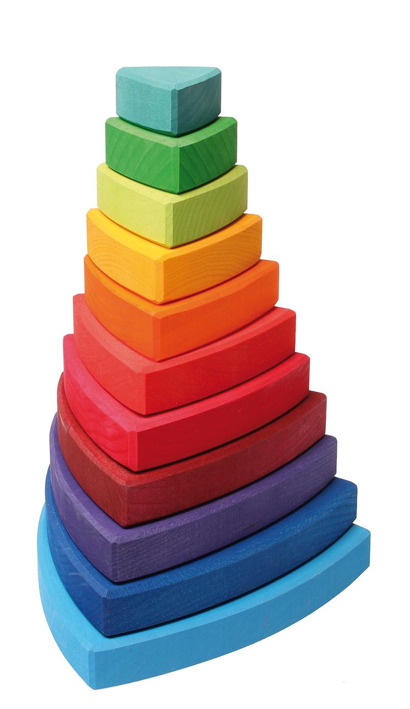 Пирамидка Grimm's Ванкель Треугольная 11030, Grimms, Сортеры  - купить со скидкой