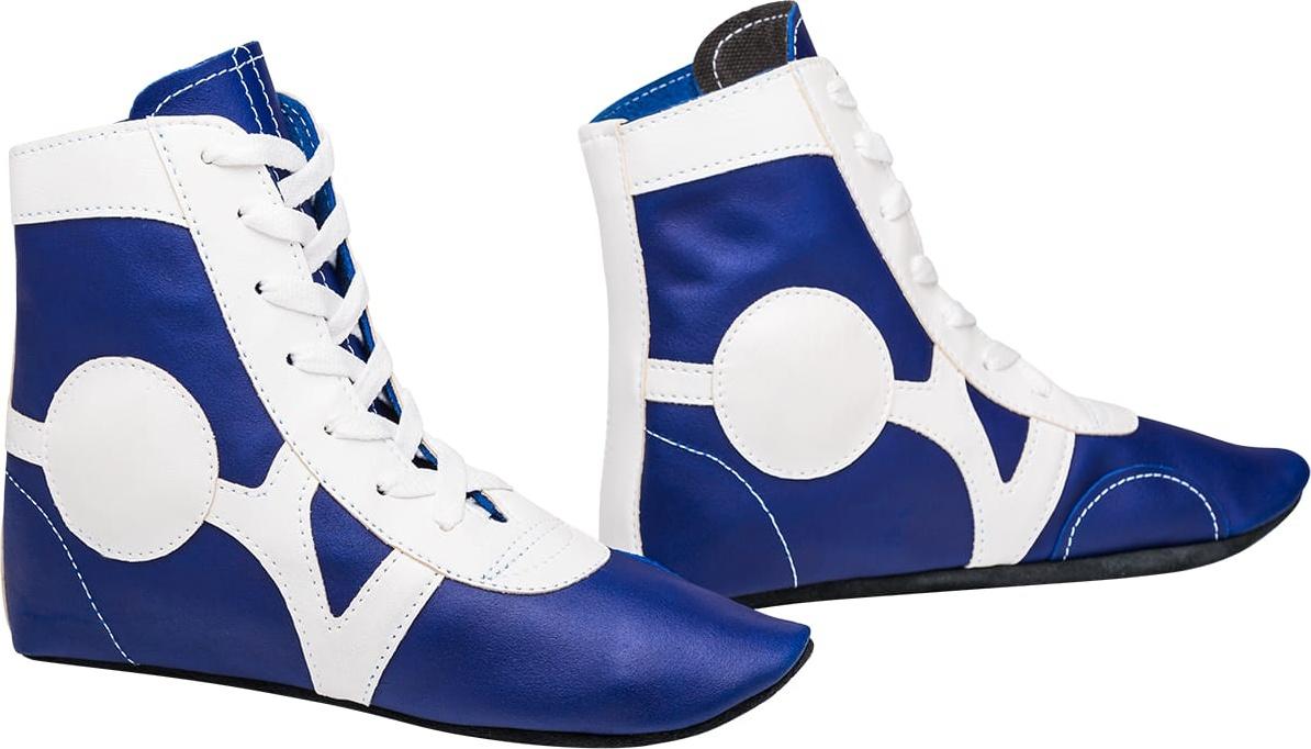 Обувь для самбо Rusco Sport SM 0102, кожа,