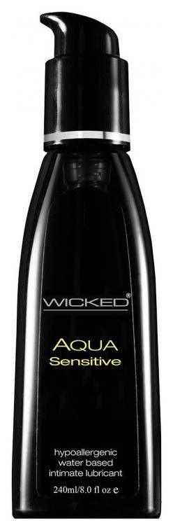 Гель смазка Wicked Aqua Sensitive на водной
