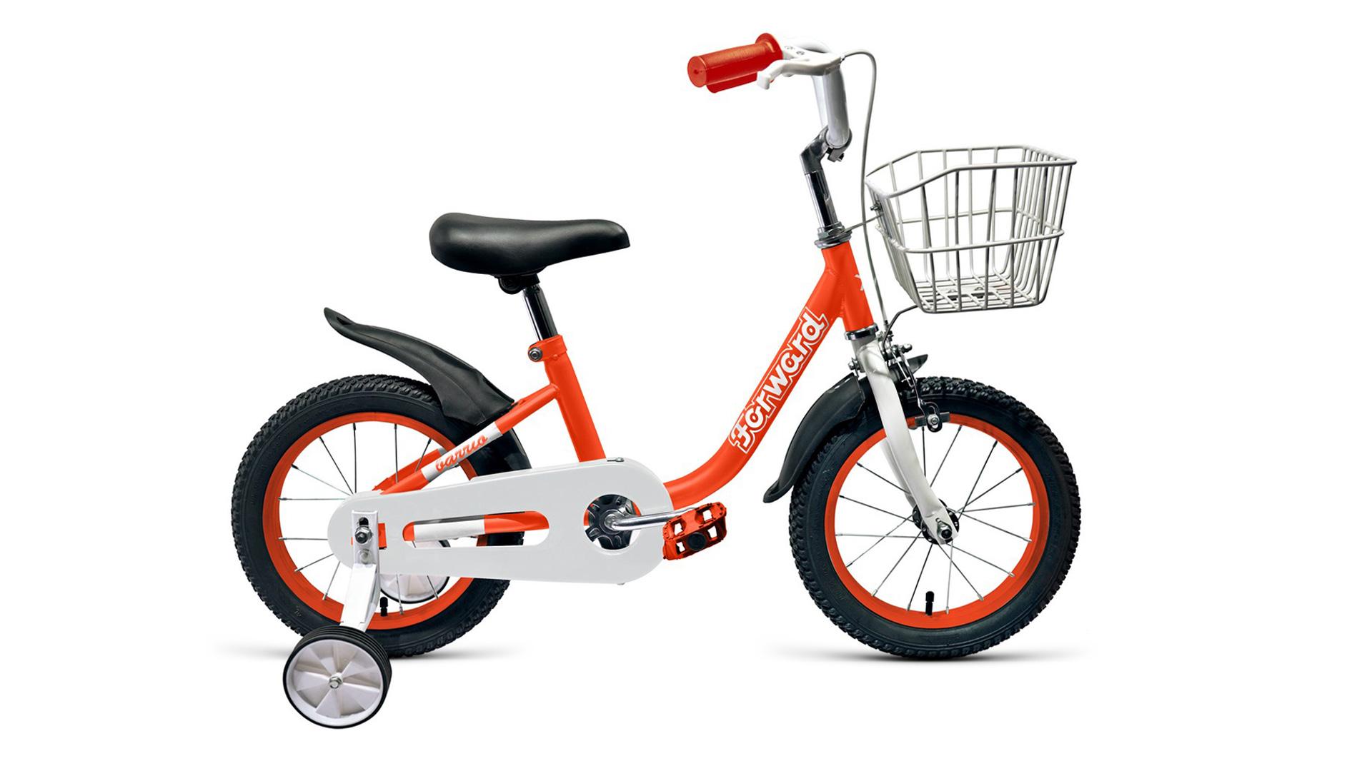 Купить Велосипед Forward Barrio 14 2019 красный, Детские двухколесные велосипеды