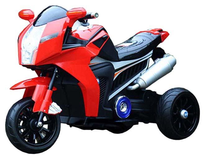 Купить CHINA BRIGHT PACIFIC Мотоцикл на аккумуляторе, красный KL6288R, Электромотоциклы детские