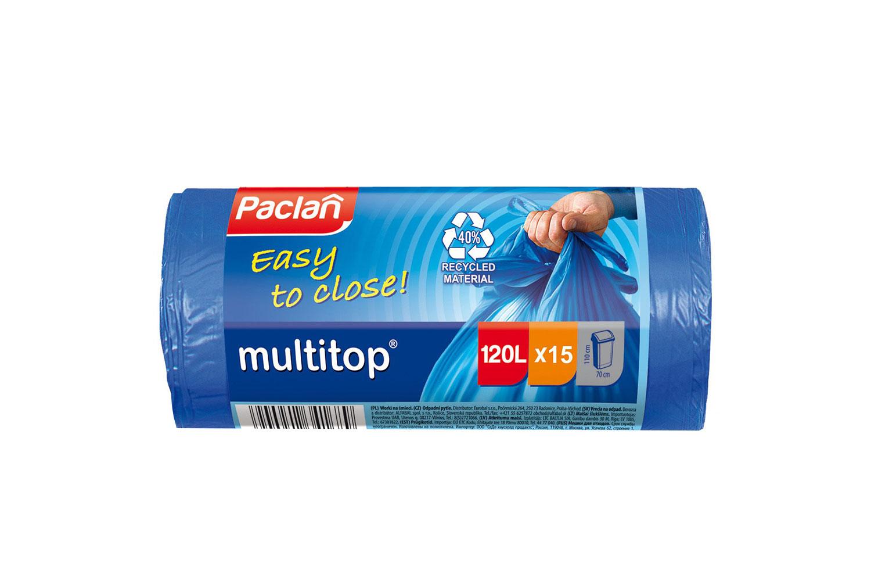 Мешок для мусора Paclan MULTI TOP 120