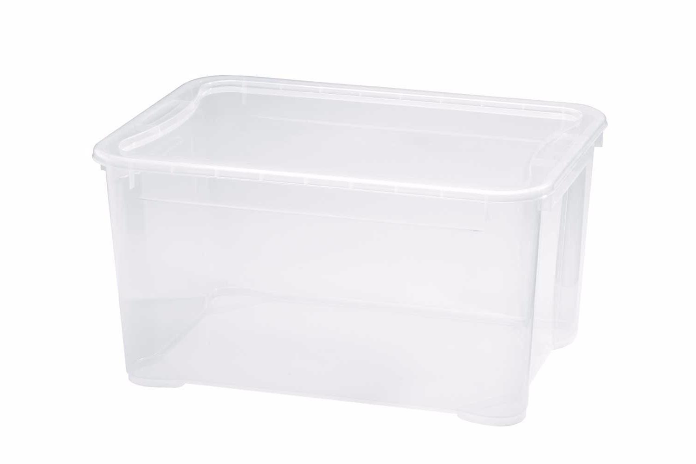 Ящик для хранения Бытпласт Кристалл L 46 л