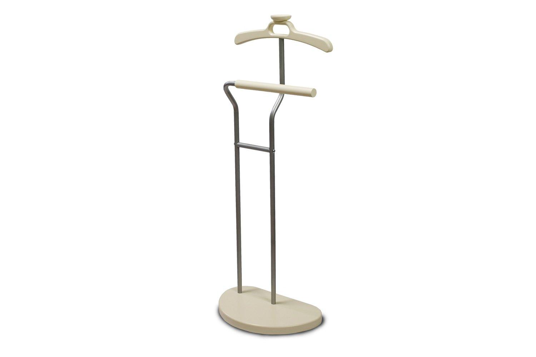 Вешалка Мебелик костюмная Д 10 Металлик/Слоновая кость
