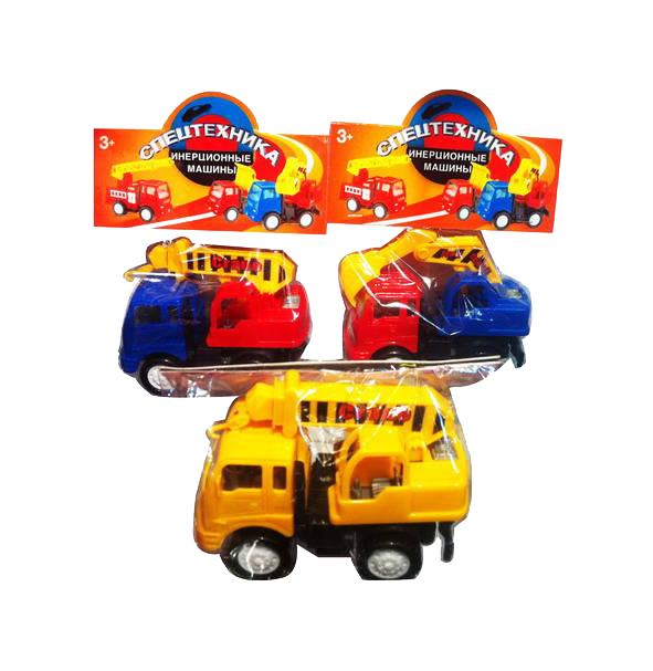 Купить Строительная техника Спецтехника Автокран 117A3/A4 в ассортименте, Junfa toys