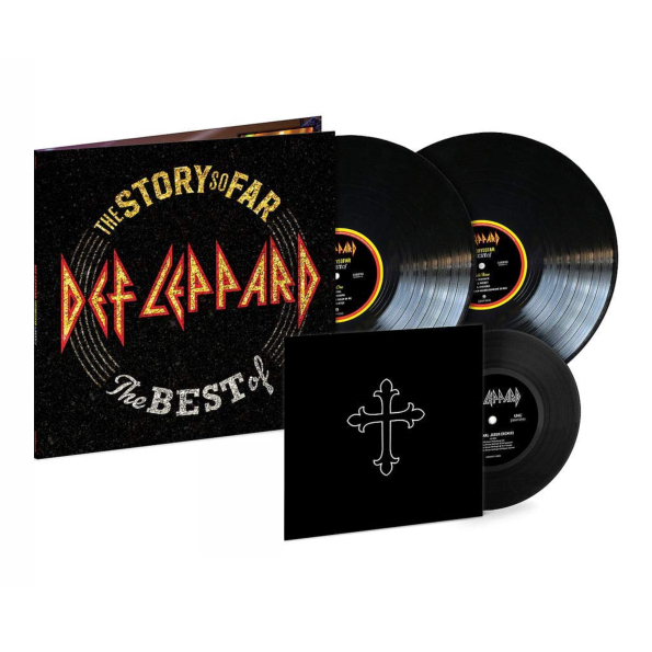 Def Leppard The Story So Far - The Best Of Def Leppard (2LP+7 Vinyl Single), Медиа  - купить со скидкой