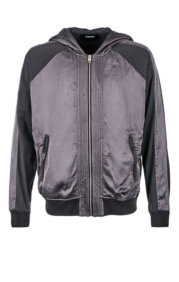 Куртка мужская DIESEL серая 46