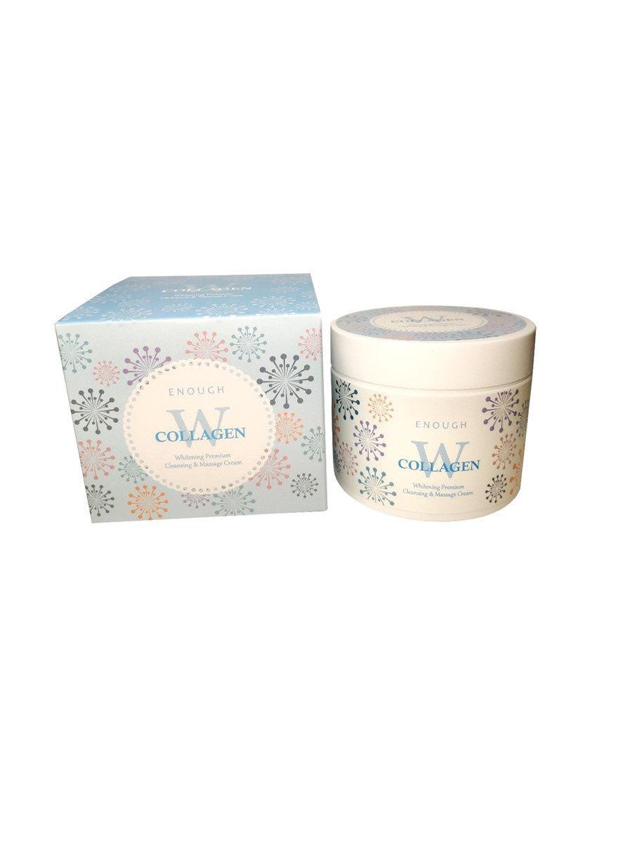 Крем массажный осветляющий Collagen whitening premium Cleansing