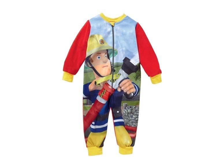 Купить Комбинезон для мальчика FISSMAN FIREMAN SAN красный р.134-140, Детские трикотажные комбинезоны