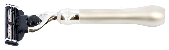 Станок для бритья S.Quire латунь с никелированным покрытием