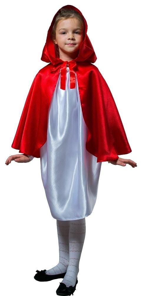 Купить Плащ красный короткий с капюшоном детский Птица Феникс p1031,