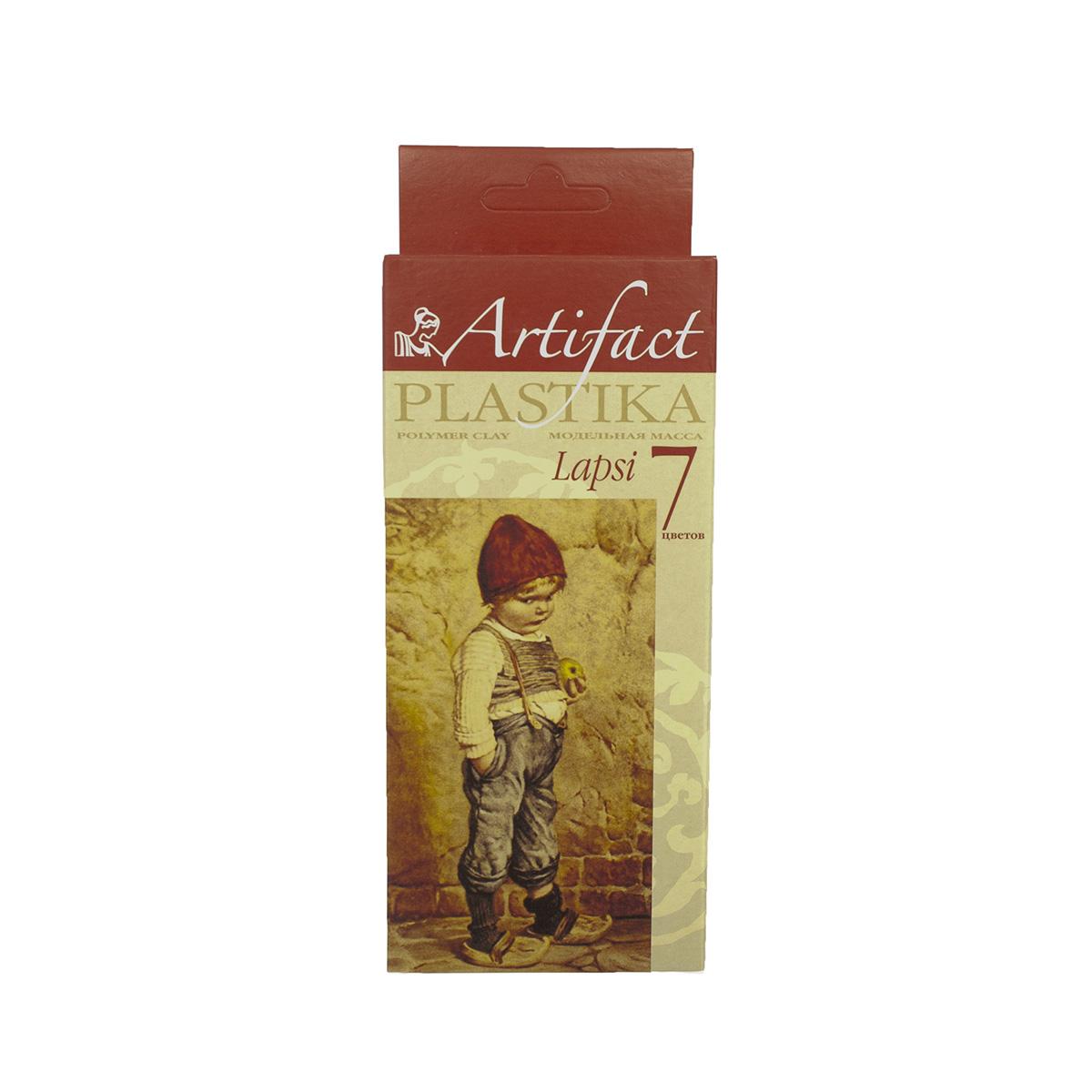 Купить Глина для лепки Artifact Lapsi 7 классических цветов,