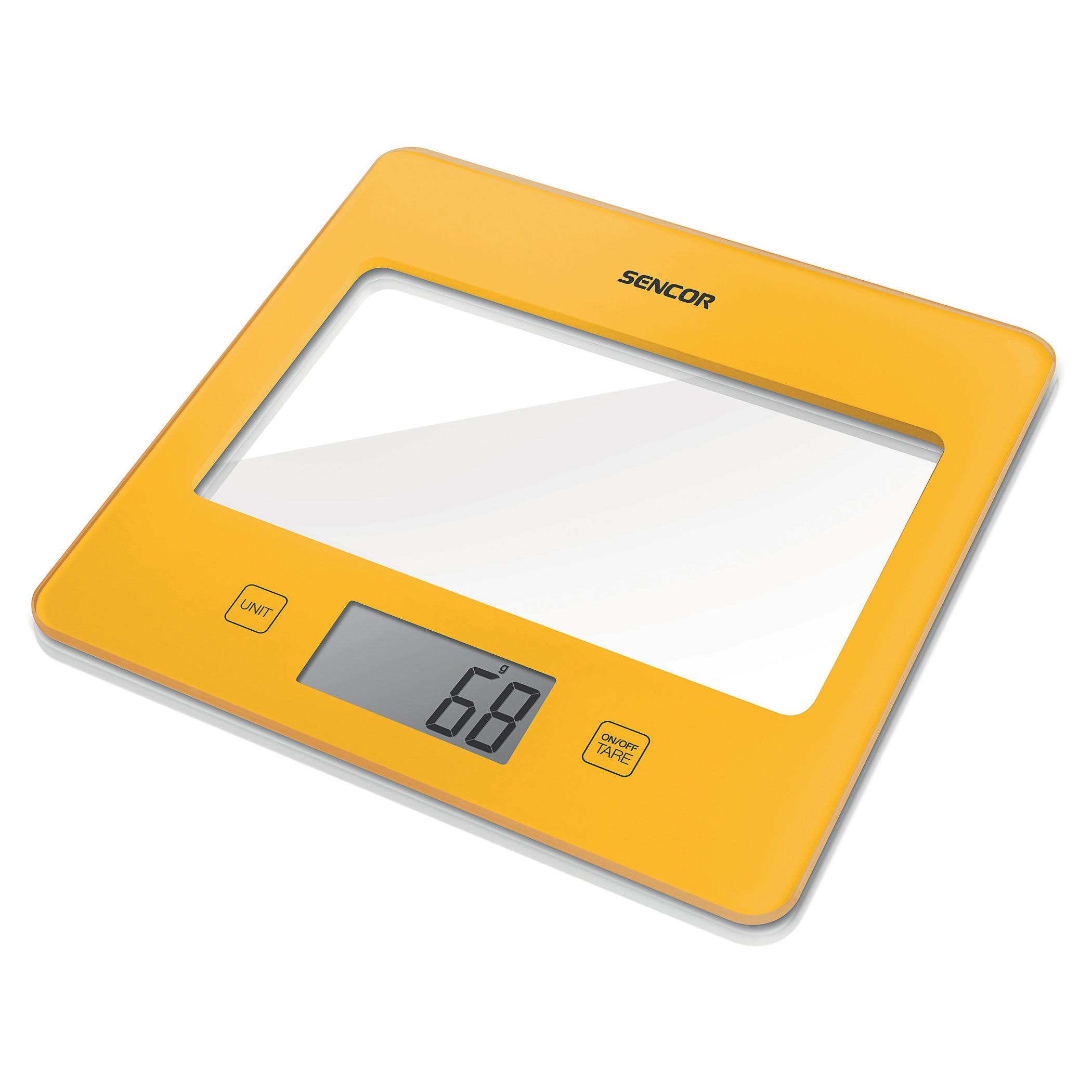 Весы кухонные Sencor SKS 5026YL