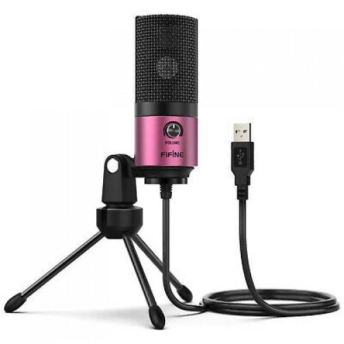 Микрофон Fifine K669B Pink