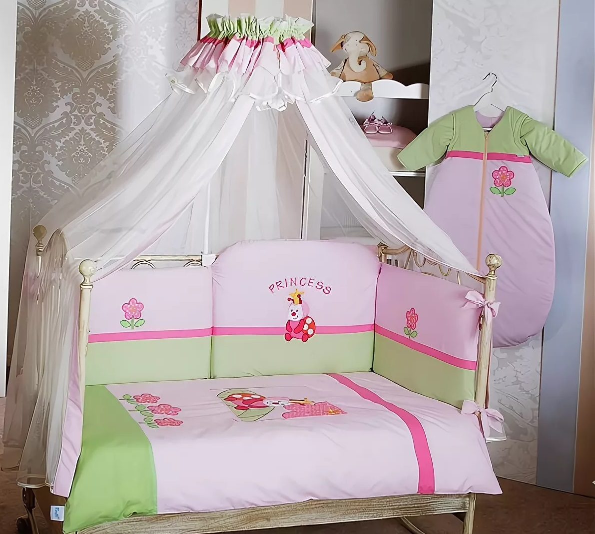 Купить Балдахин Feretti Принцесса розовый,