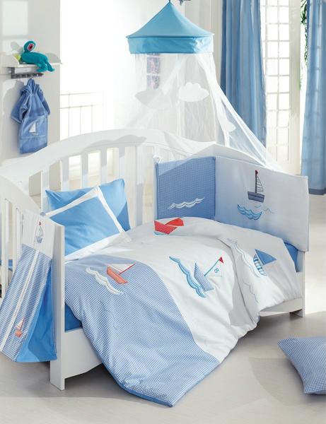 Купить Комплект Kidboo Marine Blue, 6 предметов,
