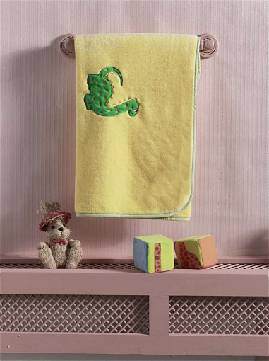 Купить Плед велсофт Kidboo Baby Dinos, 80x120 см,